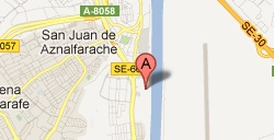 Mapa Alavera San Juán
