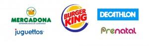 Operadores de Alavera Parque Comercial: Burger King, Decathlon, Mercadona, Juguettos y Prenatal