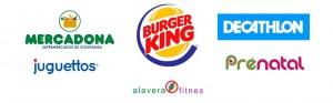 Operadores en Alavera: burger king, mercadona, decathlon, prenatal, juguettos, fitness