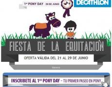 Fiesta del Pony Day en Decathlon Alavera del 21 al 29 de Junio