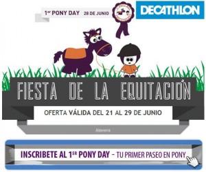Clases equitación en Decathlon Alavera