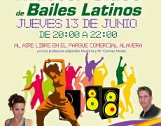Master class de bailes latinos en el Parque Comercial Alavera