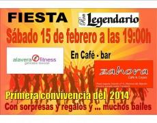 Fiesta Legendario de Alavera Fitness en Zahora Copas