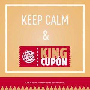 King Cupón Burguer King