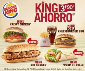 King Ahorro Burger King