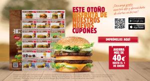 ofertas otoño burger king