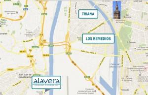 Ubicación Parque comercial Alavera