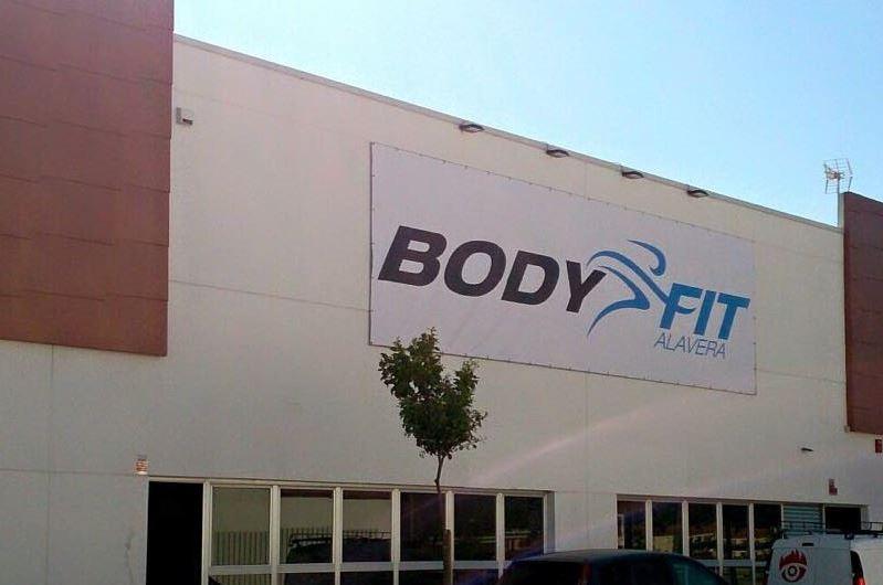 gimnasio bodyfitalavera en el parque comercial Alavera