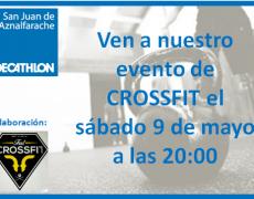 Exhibición de Crossfit en nuestro Decathlon