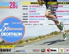 Castillos hinchables y muchas actividades en el 5º aniversario de Decathlon San Juan de Aznalfarache
