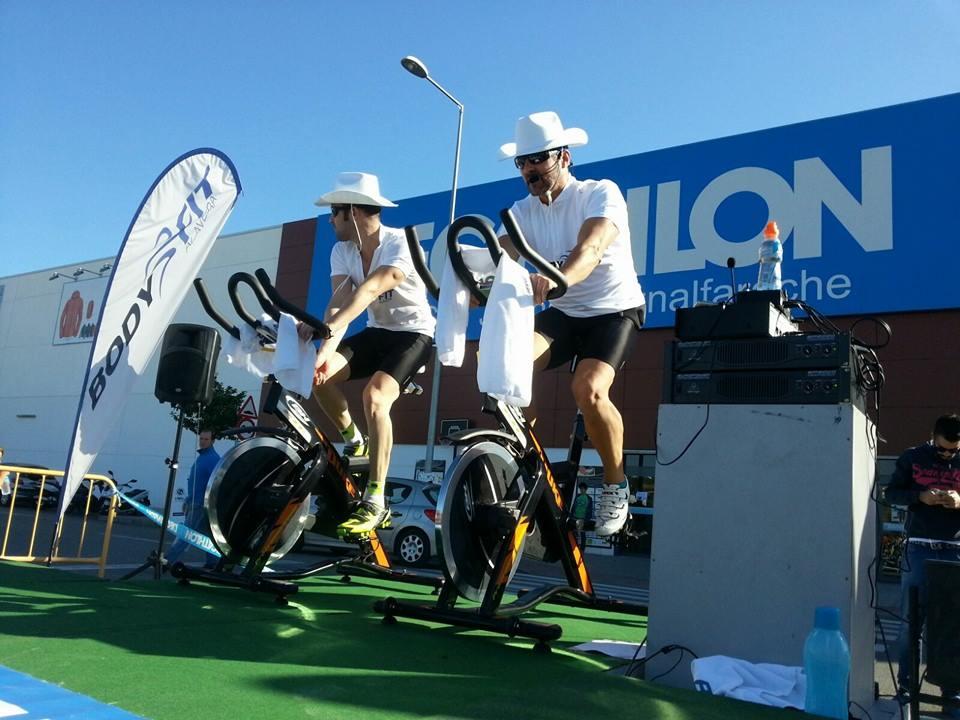Monitores Masterclass Body-fit Alavera y Decathlon San Juan de Aznalfarache