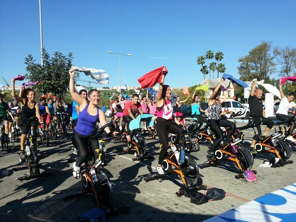 Spinning Masterclass Body-fit Alavera y Decathlon San Juan de Aznalfarache