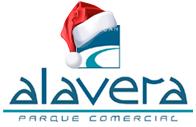 Feliz Navidad desde el parque Comercial Alavera en San Juan de Aznalfarache