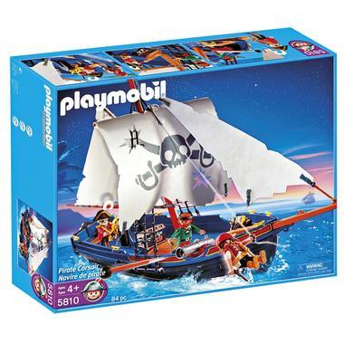 Barco Corsario de PlayMobil para surcar los mares de todo el mundo