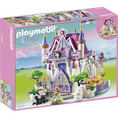 Castillo de Cristal de PlayMobil para que las más pequeñas jueguen a ser princesas