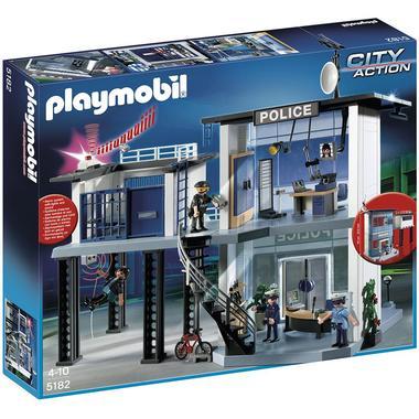 Comisaría de policía de PlayMobil para jugar a policías y ladrones