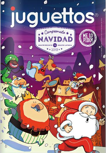 Nuevo catálogo de juguetes de Juguettos para la Navidad de 2015