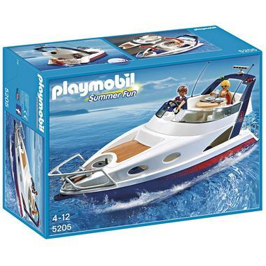 Yate de lujo de PlayMobil para jugar a pasar unas fantásticas vacaciones surcando los mares a bordo de un yate