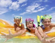 Juegos para jugar con nuestros hijos en la playa