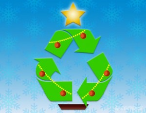 La navidad también puede ser sinónimo de reutilizar