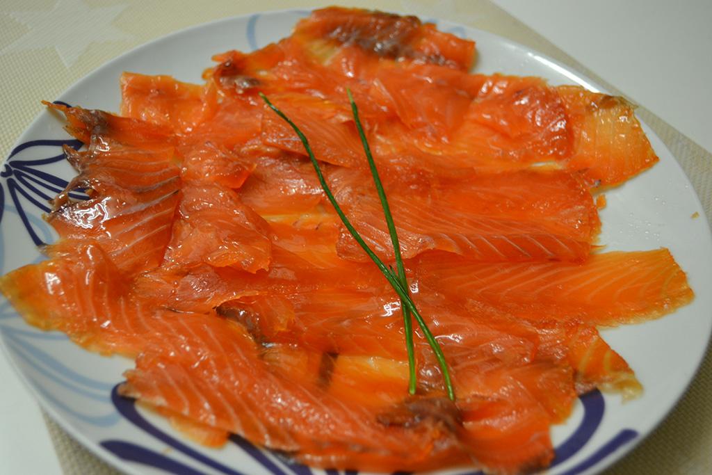salmon ahumado recetas