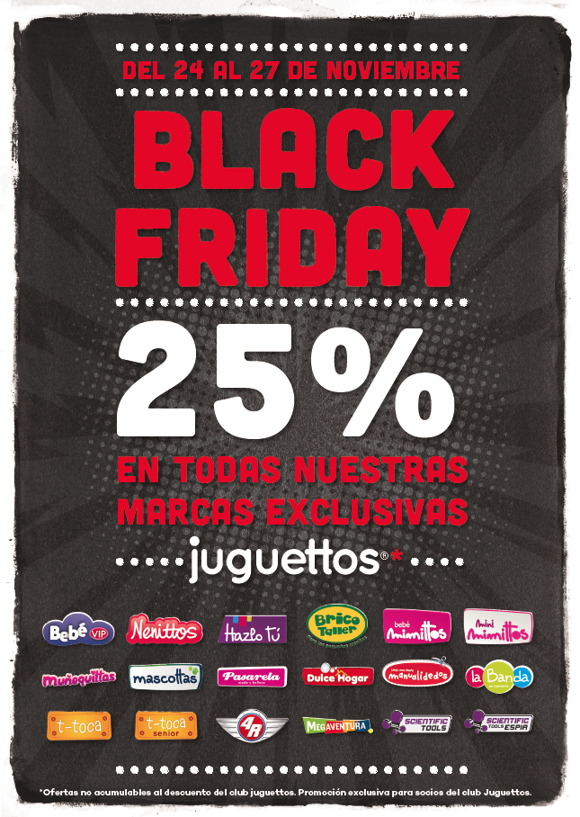black friday en alavera juguettos