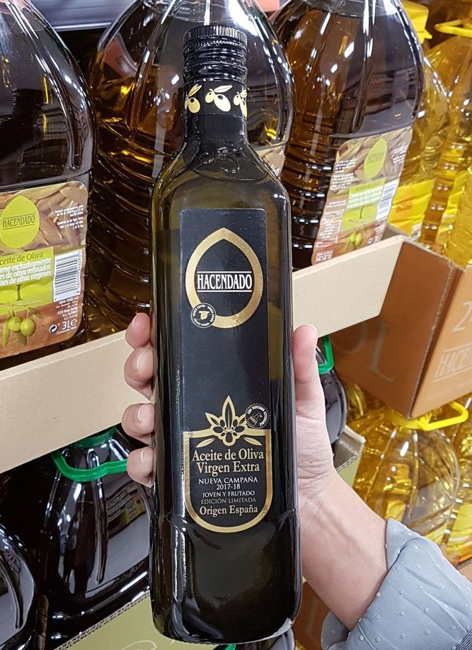 aceite hacendado