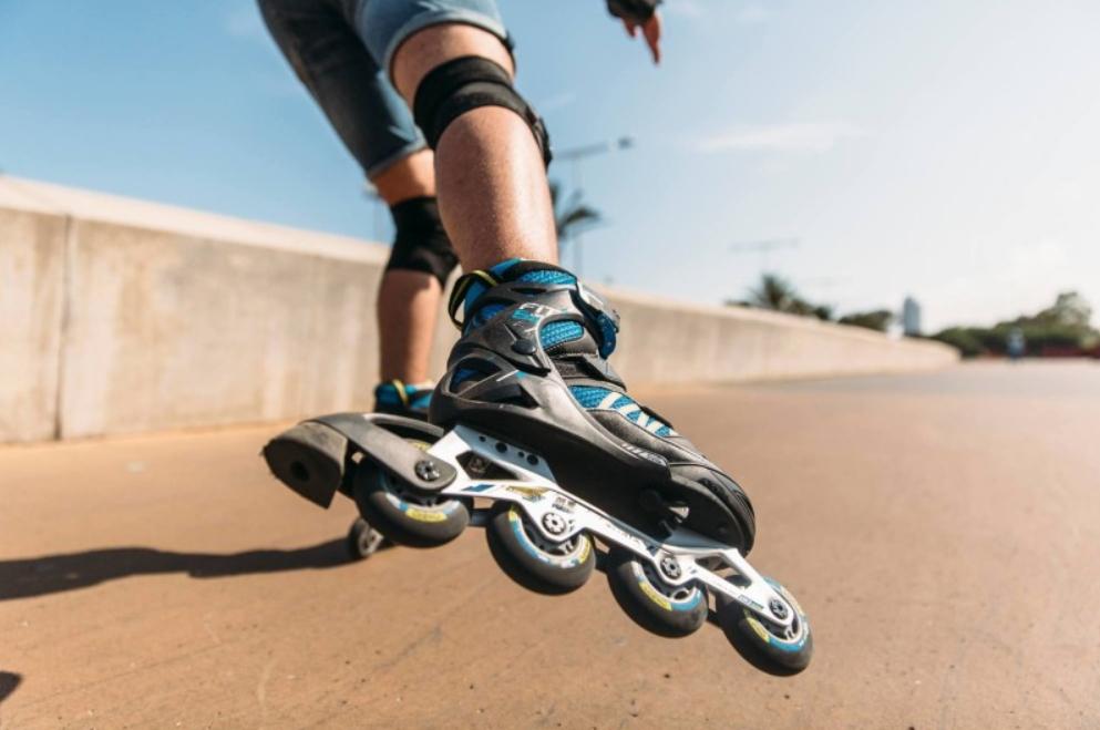 patines decathlon azules