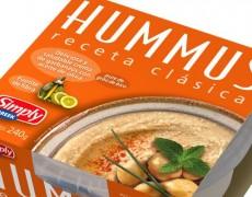 Hummus de garbanzo de Mercadona, producto de categoría.