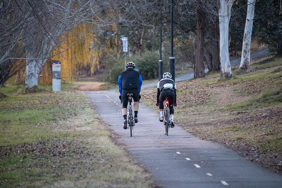 deportes de otoño ciclismo