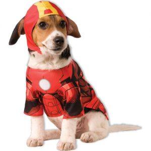 ropa para perros disfraz de iron man