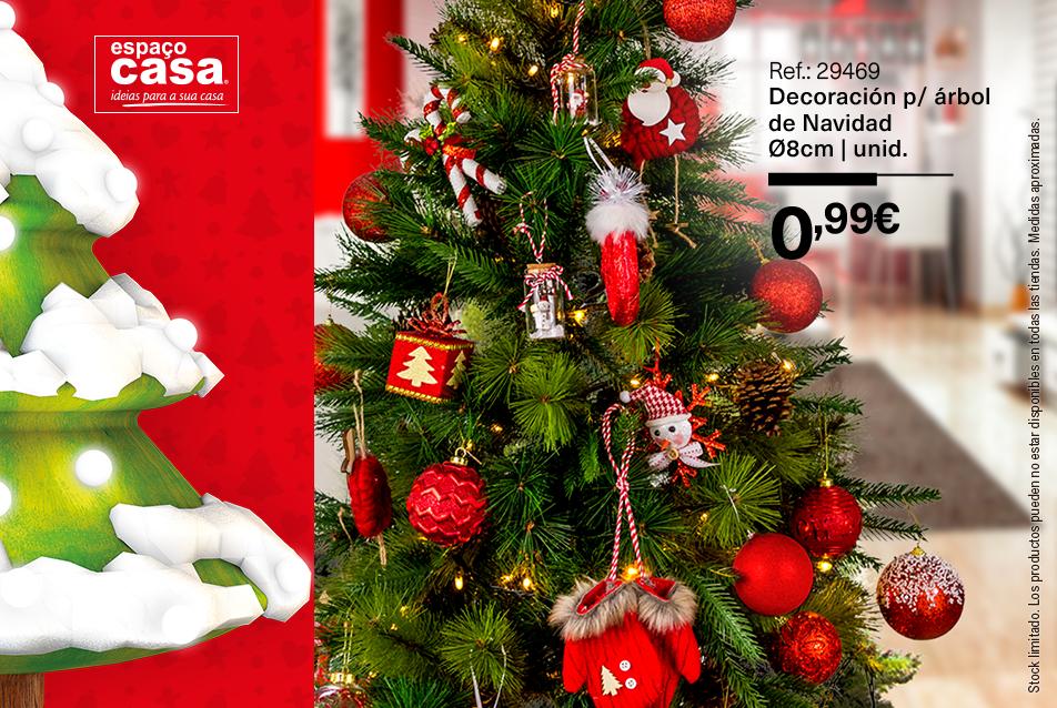decoración de Navidad espaco casa arbol