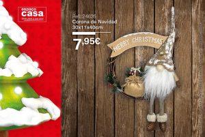 decoración de navidad espaco casa puertas