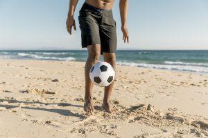 Deporte fútbol playa