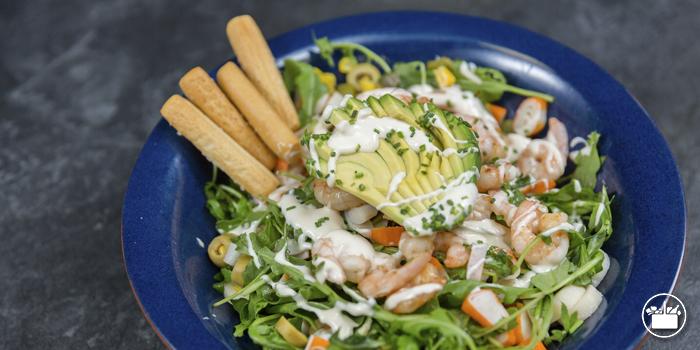 Ensalada Palitos de Cangrejo mayonesa