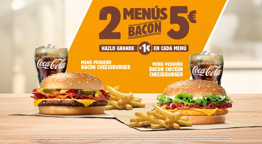 Disfrutar en Burger King