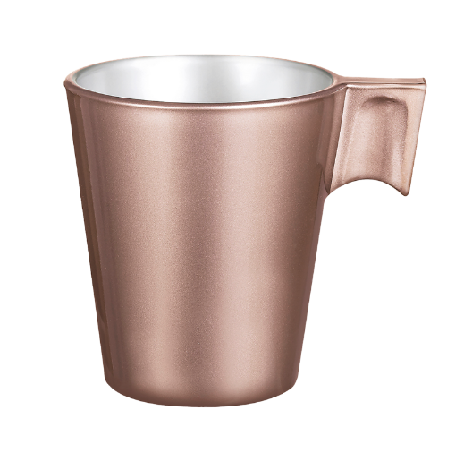 Taza en color cobre
