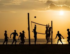 No te olvides de los deportes en la playa