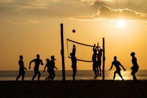 deportes en la playa