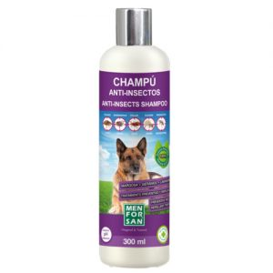 champú para perros anti insectos