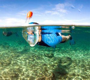 deportes subacuáticos, el snorkel