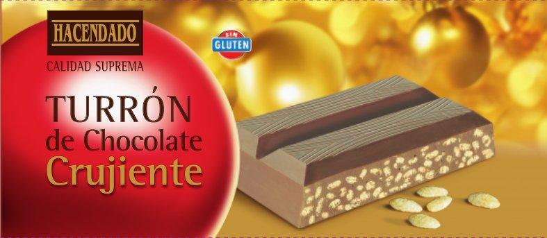 turrón chocolate mercadona