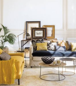 tendencias decoración hogar estampados