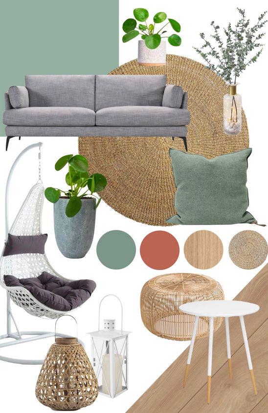 tendencia decoración hogar color verde menta