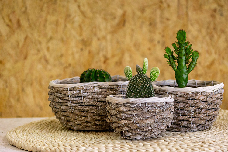 tendencia decoración hogar materiales naturales