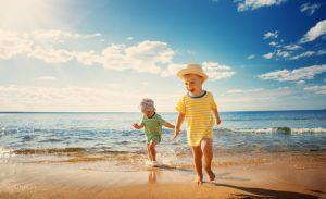 Actividades acuáticas en familia