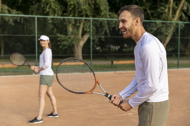 deportes al aire libre: tenis