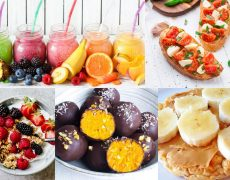 Meriendas saludables: 5 ideas