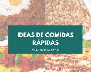 ideas de comidas rápidas